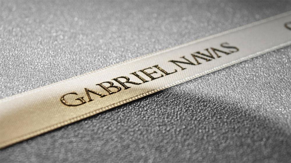 Texgraf cintas personalizadas serigrafia Gabriel Navas